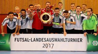 Futsal-Landesauswahlturnier in Duisburg