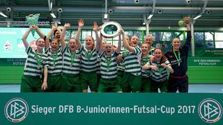 Alberweiler ist DFB-Futsal-Meister der B-Juniorinnen