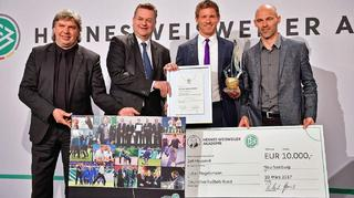 Trainerpreis: Bernd Schröder und Julian Nagelsmann geehrt