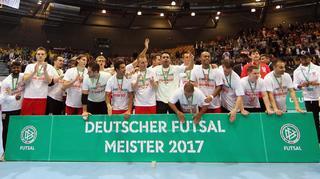 Regensburg gewinnt Deutsche Futsal-Meisterschaft