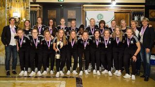 Europameisterinnen in Nürnberg empfangen