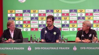 DFB-Pokal der Frauen: Highlights der PK nach dem Finale