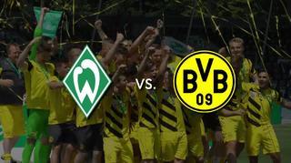 Vorfreude auf das Halbfinale: Bremen vs. Dortmund