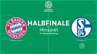 B - Junioren - Meisterschaft : Bayern München U 17 vs FC Schalke 04 U 17