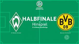 B - Junioren - Meisterschaft : Borussia Dortmund U 17 vs SV Werder Bremen U 17