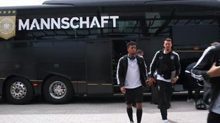 Die Mannschaft: Anreise nach Nürnberg