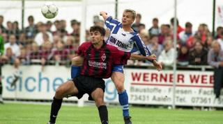 Flashback: Dorfmerkingens DFB-Pokalpremiere gegen die Kickers 1998