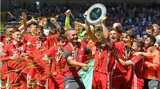 FC Bayern München  gewinnt Deutsche B-Junioren-Meisterschaft