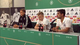 DFB Pressekonferenzen zur U21-Fußball-Europameisterschaft in Polen