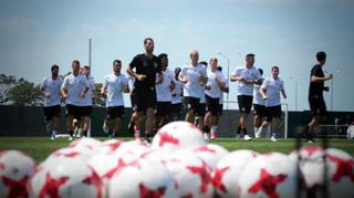Training, Medien und Pool - der Tag in Sotschi