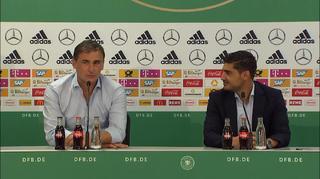 UEFA Pressekonferenz zur U21-Fußball-Europameisterschaft in Polen