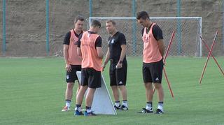 U 19-Junioren: Abschlusstraining vor dem Spiel gegen Bulgarien
