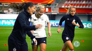 DFB-Frauen vor dem Viertelfinale