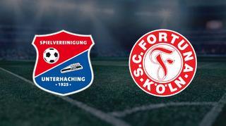 Highlights: SpVgg Unterhaching vs. Fortuna Köln