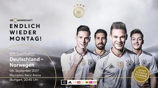 Die Mannschaft in Stuttgart: Sei dabei