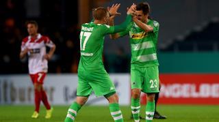 DFB Cup Men: Rot-Weiss Essen vs.  Borussia Mönchengladbach