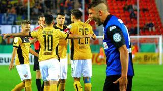 TuS Koblenz vs. Dynamo Dresden: Die Tore