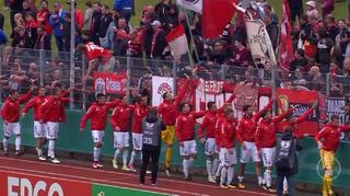 DFB Cup Men:  Germania Halberstadt  vs. SC Freiburg - The Goals