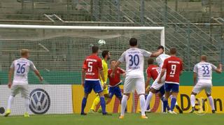 DFB Cup Men: SpVgg Unterhaching vs. 1. FC Heidenheim - The Goals