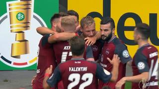 DFB Cup Men: MSV Duisburg vs. 1. FC Nürnberg -  The Goals
