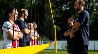 Club-Tour: Fußball trifft Volleyball