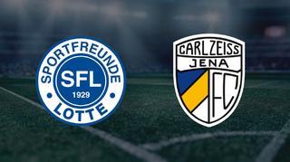 Highlights: Sportfreunde Lotte vs. FC Carl Zeiss Jena