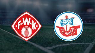 Highlights: FC Würzburger Kickers vs. FC Hansa Rostock