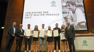 DFB verleiht Fritz-Walter-Medaille