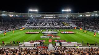Spektakulär wie das Spiel: Die Choreographie des Fan Club Nationalmannschaft