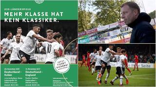Mehr Klasse hat kein Klassiker: Deutschland gegen England in Zwickau