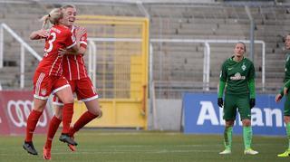 Highlights: Bayern München vs.  SV Werder Bremen