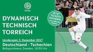 Länderspiel gegen Tschechien in Dresden