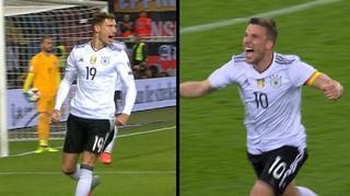 Podolski und Goretzka für Tor des Jahres nominiert