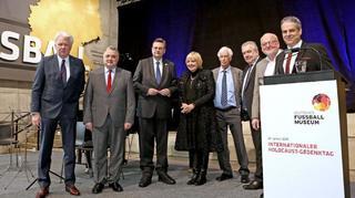 Internationaler Holocaust-Gedenktag im Deutschen Fußballmuseum