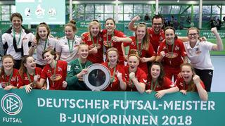 Kölner B-Juniorinnen gewinnen Futsal-Cup