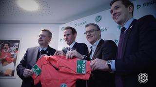 Partner DFB und DEKRA verlängern bis 2021