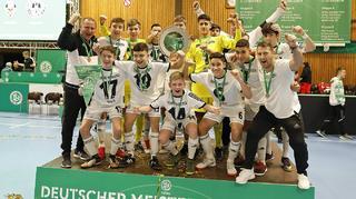 Tennis Borussia Berlin  gewinnt den Futsal-Cup der C-Junioren