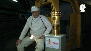 DFB-Pokal-Tour: Im Bergwerk Prosper-Haniel mit Huub Stevens