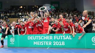 Hohenstein-Ernstthal gewinnt Deutsche Futsal-Meisterschaft