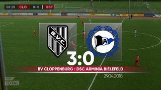 2. Frauen-Bundesliga: BV Cloppenburg vs. Arminia Bielefeld
