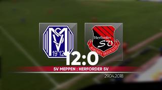 2. Frauen-Bundesliga: SV Meppen vs. Herforder SV