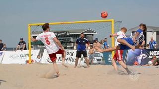 Erster Spieltag der Deutschen Beachsoccer-Liga