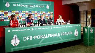 Pokalfinale der Frauen: Highlights der Pressekonferenz