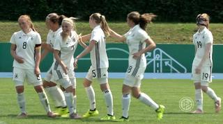 U 15-Juniorinnen: Highlights Länderspiel gegen Tschechien