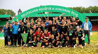 Hertha BSC erstmals A-Junioren-Meister