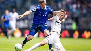Playoff-Rückspiel: SV Waldhof Mannheim  vs. KFC Uerdingen
