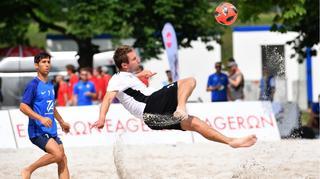 Zweiter Spieltag der Deutschen Beachsoccer-Liga