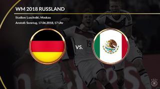 Deutschland gegen Mexiko im Faktencheck