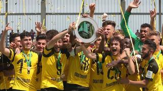Borussia Dortmund gewinnt Deutsche B-Junioren-Meisterschaft 2018