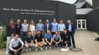 DFB-Akademie beim Summer Institute des Max-Planck-Instituts
